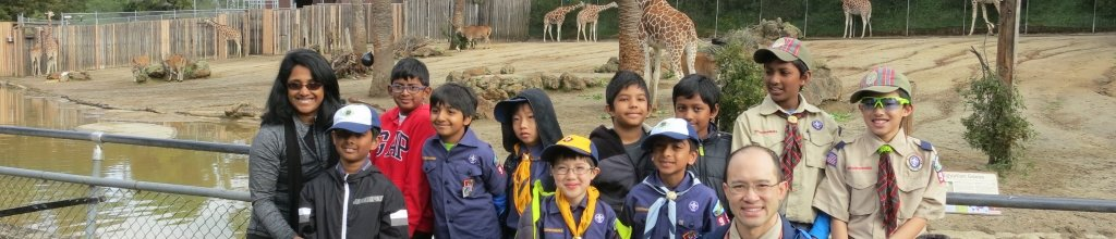 2017 Spring Overnighter at the Oakland Zoo